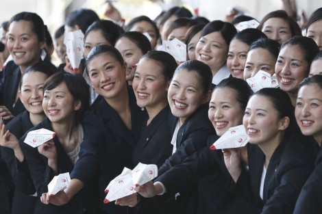 JAL New Employee Welcoming Ceremony